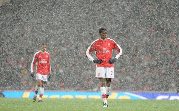 abou diaby arsenal arsenal 22 everton barclays premier league