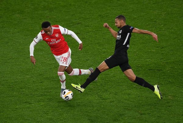 Arsenal FC v Eintracht Frankfurt: Group F - UEFA Europa League