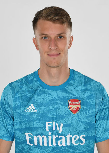 ST ALBANS, ENGLAND - AUGUST 07: Matt Macey of Arsenal at London Colney on August 07, 2019 in St Albans, England. (Photo by Stuart MacFarlane/Arsenal FC via Getty Images)