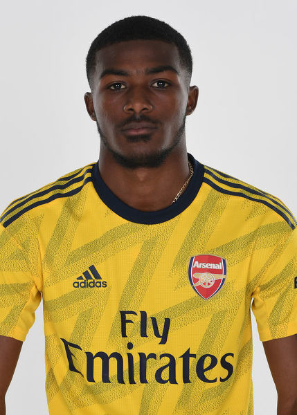ST ALBANS, ENGLAND - AUGUST 07: Ainsley Maitland-Niles of Arsenal at London Colney on August 07, 2019 in St Albans, England. (Photo by Stuart MacFarlane/Arsenal FC via Getty Images)