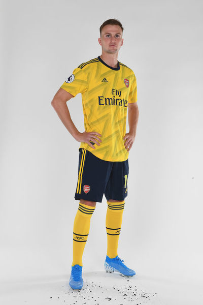 ST ALBANS, ENGLAND - AUGUST 07: Rob Holding of Arsenal at London Colney on August 07, 2019 in St Albans, England. (Photo by Stuart MacFarlane/Arsenal FC via Getty Images)