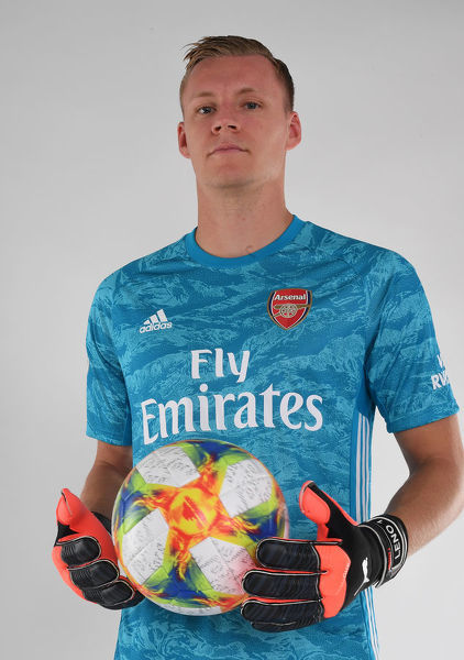 ST ALBANS, ENGLAND - AUGUST 07: Bernd Leno of Arsenal at London Colney on August 07, 2019 in St Albans, England. (Photo by Stuart MacFarlane/Arsenal FC via Getty Images)