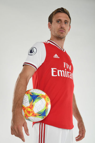 ST ALBANS, ENGLAND - AUGUST 07: Nacho Monreal of Arsenal at London Colney on August 07, 2019 in St Albans, England. (Photo by Stuart MacFarlane/Arsenal FC via Getty Images)