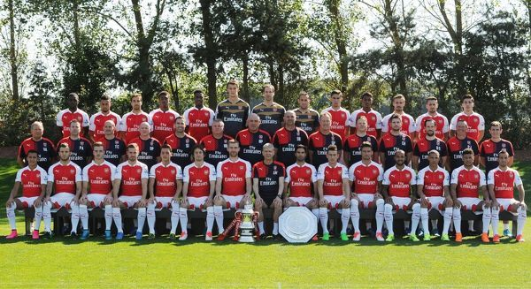 arsenal training ground on september 10 2015 in london