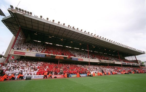 the east stand after the match arsenal 4