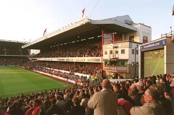 the east stand from the south stand arsenal 70 everton