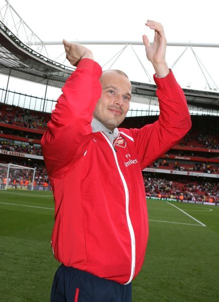 Freddie Ljungberg royalty images (Arsenal).
