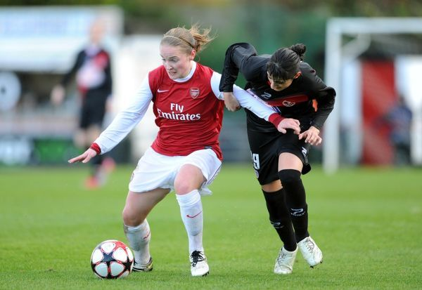 kim little arsenal rocio ruiz rayo arsenal ladies 41 rayo vallecano
