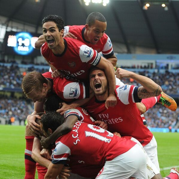 manchester city v arsenal premier leagu