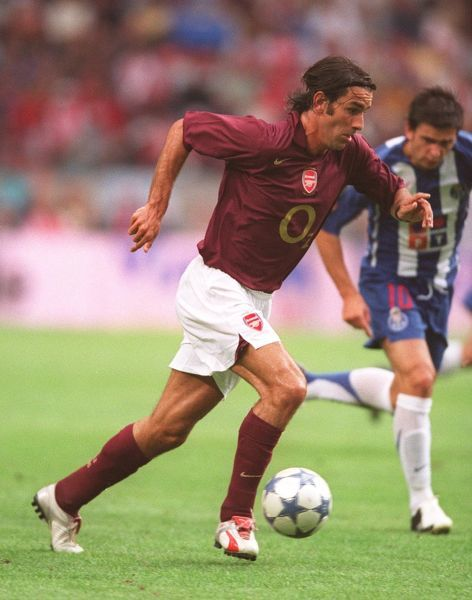 robert pires arsenal arsenal 21 porto the amsterdam tournament