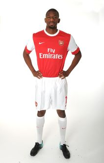 Abou Diaby (Arsenal). Arsenal 1st Team Photocall and Membersday. Emirates Stadium, 5/8/10