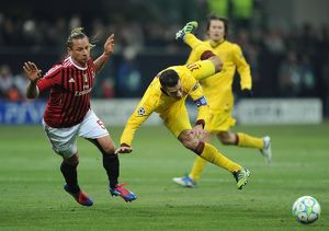 AC Milan v Arsenal FC - UEFA Champions League Round of 16