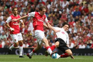 Alex Hleb (Arsenal) Alexy Smertin (Fulham)