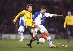 Alex Hleb (Arsenal) David Dunn (Blackburn)