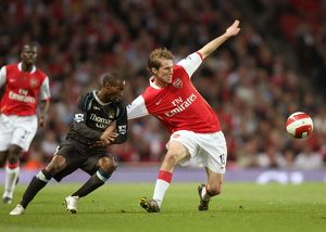 Alex Hleb (Arsenal) DeMarcus Beasley (Man City)