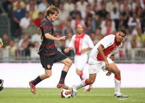 Alex Hleb (Arsenal) Hedwiges Maduro (Ajax)