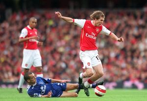 Alex Hleb (Arsenal) Leon Osman (Everton)