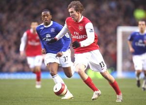 Alex Hleb (Arsenal) Manuel Fernandes (Everton)