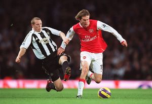 Alex Hleb (Arsenal) Peter Ramage (Newcastle)