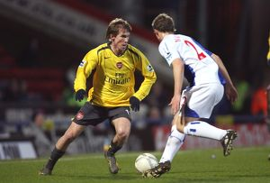 Alex Hleb (Arsenal) Stephen Warnock (Blackburn)