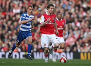 Alex Hleb (Arsenal) Steve Sidwell (Reading)
