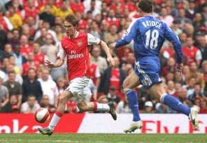 Alex Hleb (Arsenal) Wayne Bridge (Chelsea)