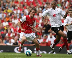 Alex Hleb (Arsenal) Zat Knight (Fulham)