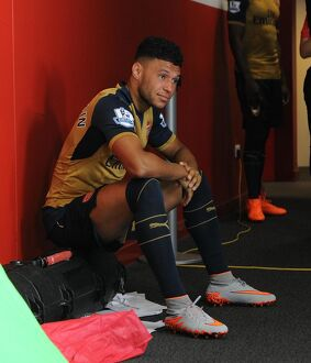 Alex Oxlade-Chamberlain (Arsenal). Arsenal 1st Team Photocall and Training Session