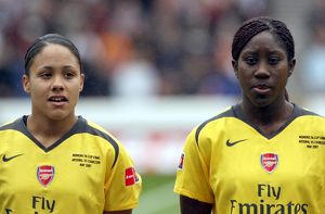 alex scott and anita asante arsenal