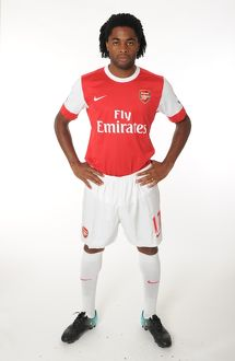 Alex Song (Arsenal). Arsenal 1st team Photocall and Membersday. Emirates Stadium, 5/8/10