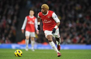 Alex Song (Arsenal). Arsenal 3:0 Wigan Athletic. Barclays Premier League