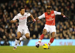 alex song arsenal mousa dembele fulham fulham 21 arsenal
