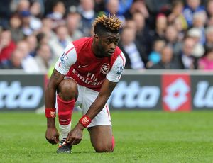 Alex Song (Arsenal). Queens Park Rangers 2:1 Arsenal. Barclays Premier League