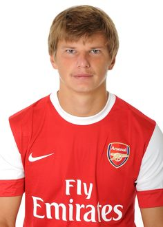 Andrey Arshavin (Arsenal). Arsenal 1st Team Photocall and Membersday. Emirates Stadium