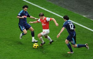 andrey arshavin arsenal jermaine pennant and marc wilson