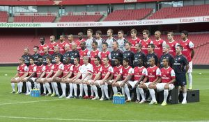 the arsenal 1st team squad arsenal 1st team photocall