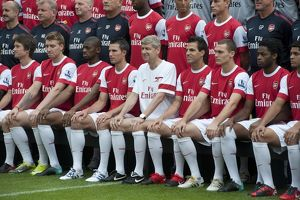 The Arsenal 1st team squad. Arsenal 1st Team Photocall and Members Day