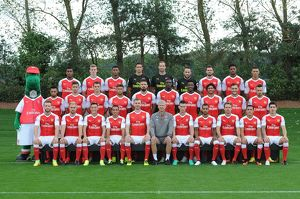 arsenal 1st team squadseason 201617