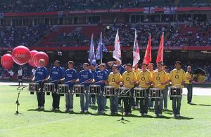 An Arsenal and Chelsea band play before the match. Arsenal 1:2 Chelsea