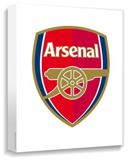 arsenal crest canvas