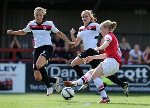 arsenal ladies fc v lincoln ladies fc the