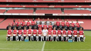 Arsenal Lucozade. Arsenal 1st Team Photocall and Membersday. Emirates Stadium, 5/8/10