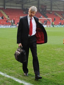 arsenal manager arsene wenger leyton orient 11 arsenal