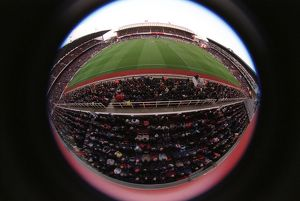 Arsenal Stadium Highbury. Arsenal v Blackburn Rovers. FA Premiership