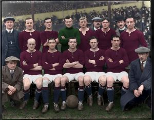 arsenal team group 1913 in