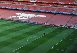 arsenal v as monaco fc uefa champions league