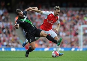arsenal v stoke city premier league