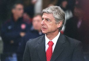 Arsene Wenger the Arsenal Manager