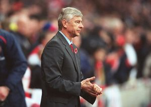 Arsene Wenger Arsenal Manager