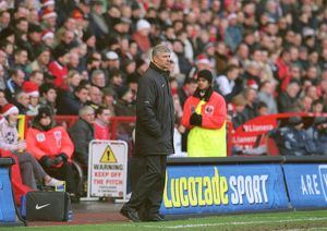 Arsene Wenger the Arsenal Manager. Charlton Athletic 0:1 Arsenal